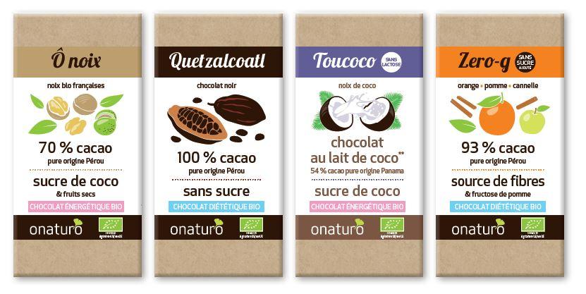 chocolats wellness onaturo collection 2017
